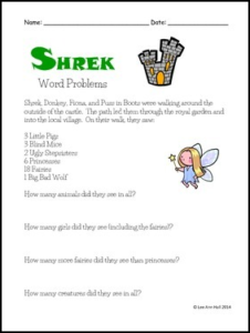 shrek-word-problems