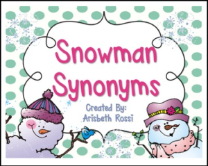 snowman-synonyms
