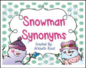 snowman-synonyms