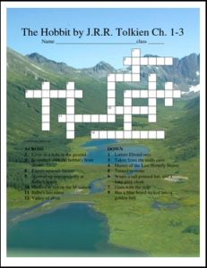 the-hobbit-crossword