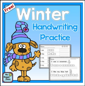 winter-handwriting-and-sight-words-practice