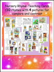 nursery-rhyme-teaching-cards-skill-of-compare-and-contrast