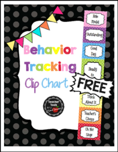 "FREE MISC. LESSON – ""Test Behavior Clip Chart – Classroom Management ..."
