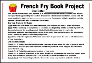 Elements of book report