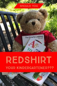 Redshirt Your Kindergartener?