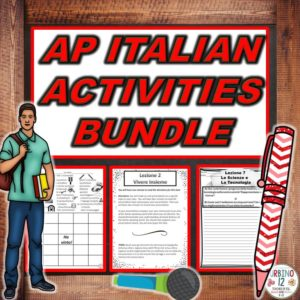 https://www.teacherspayteachers.com/Product/AP-Italian-Activities-BUNDLE-3955977