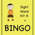 Best Sight Word Kit, including Bingo