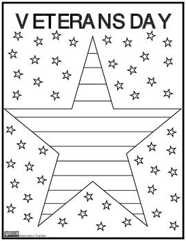 Free Misc Lesson Veterans Day Coloring Page Freebie The Best Of Teacher Entrepreneurs Marketing Cooperative