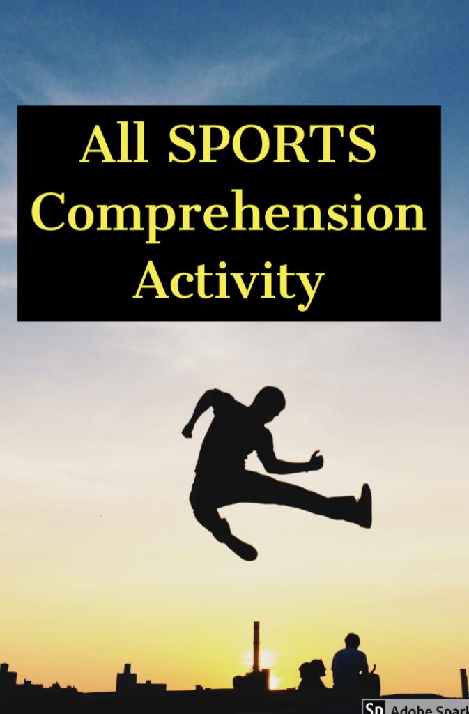 Make a motivating comprehension activity